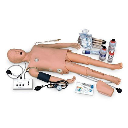 Nasco Child Crisis Manikin with ECG Simulator