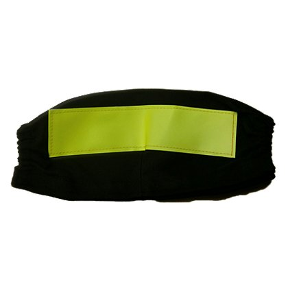 Lion Goggles Guard, Black Nomex w/ 3M Scotchlite™ Reflective Material (Lime-Yellow)