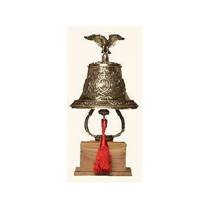 Personalized Bronze Fire Bell Award