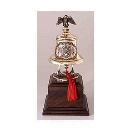 Liberty Artworks Engraved Bronze Bell