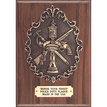 Liberty Artworks Police Duty Plaque