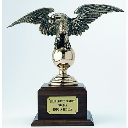 Liberty Artworks Esteemed Eagle Statue w/ Engraveable Base