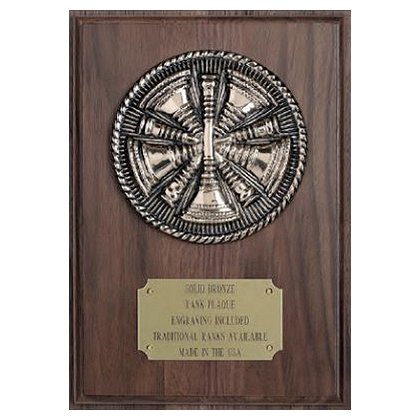 Liberty Artworks Bronze Rank Plaque