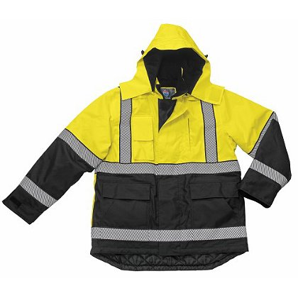 Liberty Uniforms Polar Parka, High-Viz Black