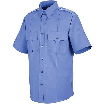 Liberty Uniforms Poly/Cotton Police Shirt, Short Sleeve