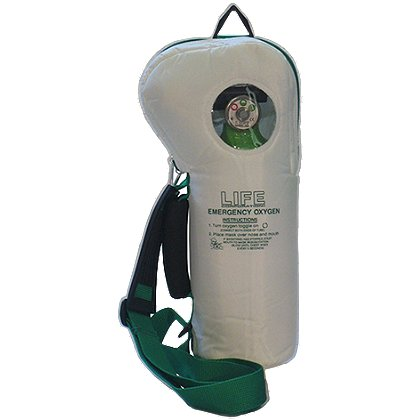 LIFE Corp SoftPac AED Companion O2 Unit 6 lpm, Fixed Flow