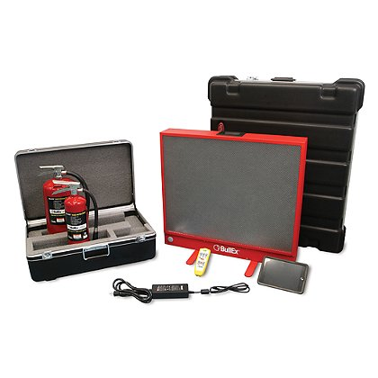LION BULLSEYE Digital Fire Extinguisher Training System Plus Package