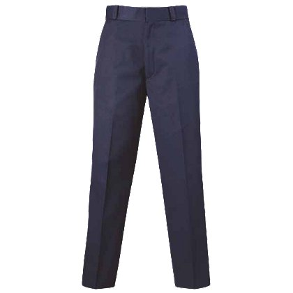 Lion StationWear Womens Deluxe 100% Cotton Uniform Trousers with Adjustable Waist