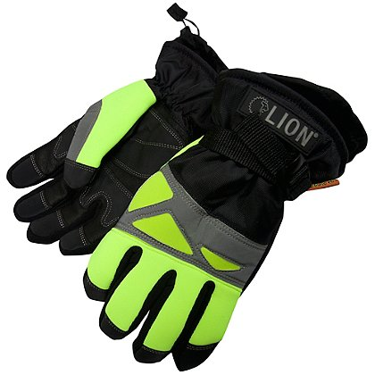 Lion Hi-Viz Cold Weather Work Gloves