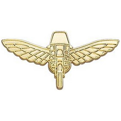 Smith & Warren Motorcycle with Wings Insignia