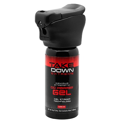 Mace Take Down Extreme OC MK-III Gel, with Light