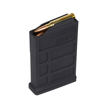 Magpul PMAG 10-Round 7.62x51mm NATO AICS Short Action Magazine, Black