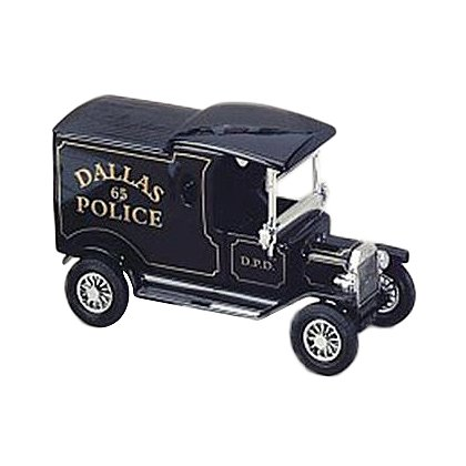 Dallas Police 1912 Ford Model T Van