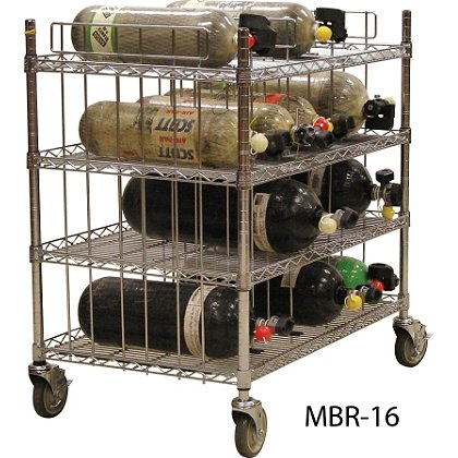 Groves SCBA Mobile Bottle Cart