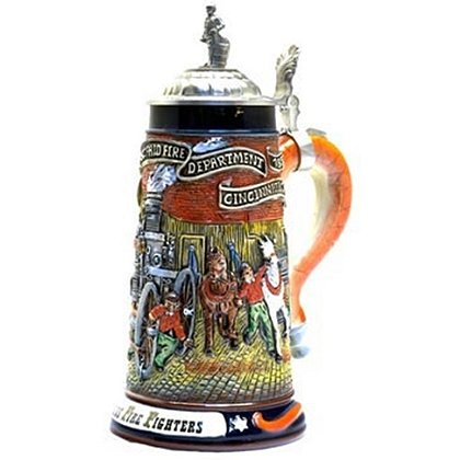 Fearless Firefighters Beer Stein