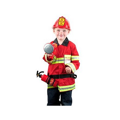 Jr Fire Chief Costume Play Set