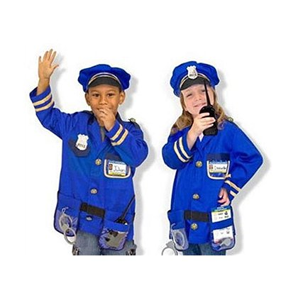 Jr Police Officer Costume Play Set