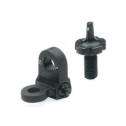 Meprolight AR-15 Night Sight Set with 2-Dot Peep Rear