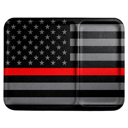 Mission First Tactical Thin Red Line Flag Dump Tray