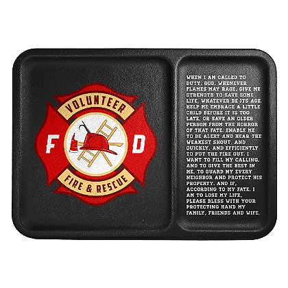Mission First Tactical Firefighter Badge And Prayer Dump Tray