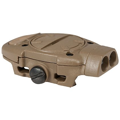 Mission First Back Up Picatinny Mounted Home Defense Light, IR/Red