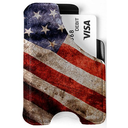 Mission First Tactical Distressed Flag Minimalist Wallet