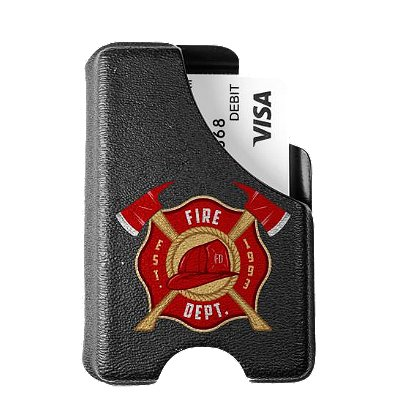 Mission First Tactical Firefighter Badge Minimalist Wallet