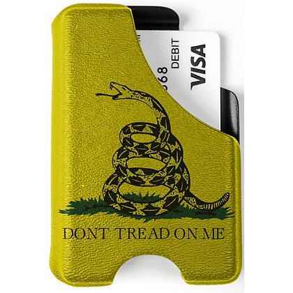 Mission First Tactical Don't Tread On Me Minimalist Wallet