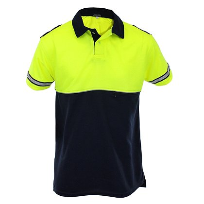 Mocean Metro Pique Short Sleeve Polo Shirt
