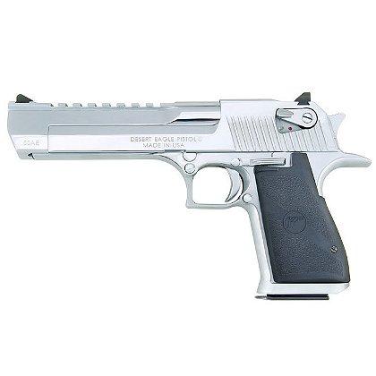 Magnum Research Desert Eagle Mark XIX Pistol, Polished Chrome