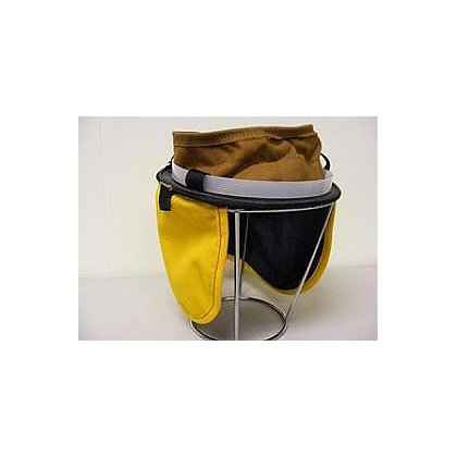MSA Cairns Leather/Sateen Cushion Liner with Yellow Nomex Earlap