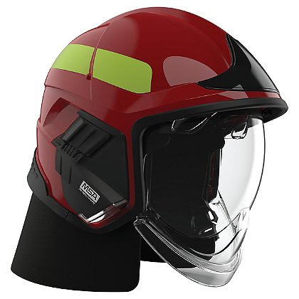 Cairns XF1 Fire Helmet, Red