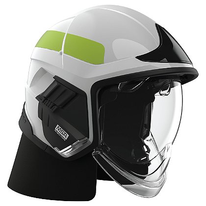 Cairns XF1 Fire Helmet, White