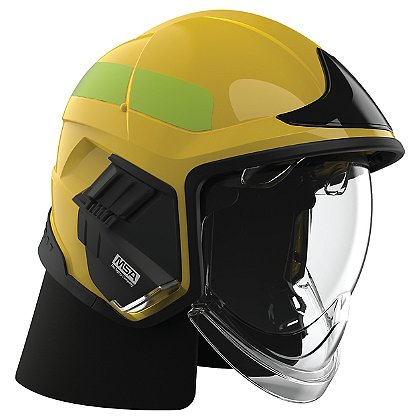 Cairns XF1 Fire Helmet, Yellow