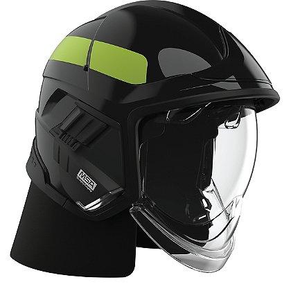 Cairns XF1 Fire Helmet, Black