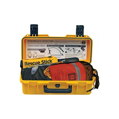 Mustang Survival MUS-MRK110 Water Rescue Kit, 1 Water Rescue Stick, 1 Rope Throw Bag, 1 Belt Pack Inflatable PFD