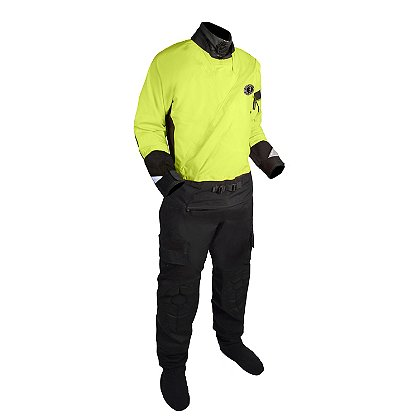 Mustang Survival Sentinel Series Water Rescue Dry Suit with Adjustable Neck Seal