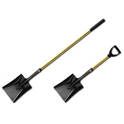 Nupla Classic Square Point Shovel