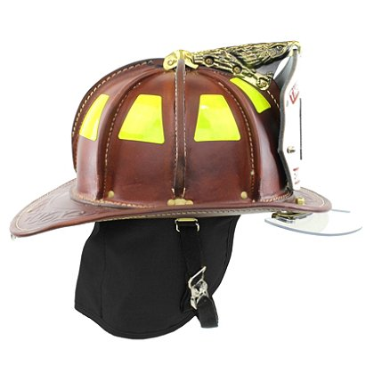 Cairns N5A New Yorker Natural Leather Helmet, OSHA