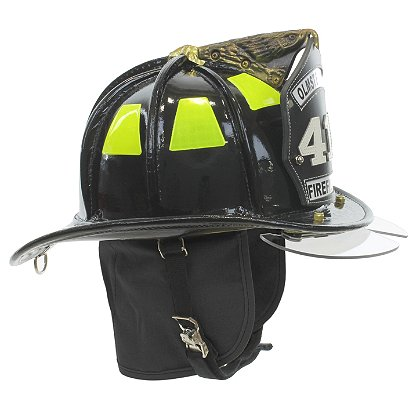 Cairns N5A New Yorker Leather Helmet, Black