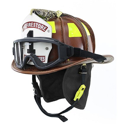 Cairns Natural N6A Houston Leather Fire Helmet