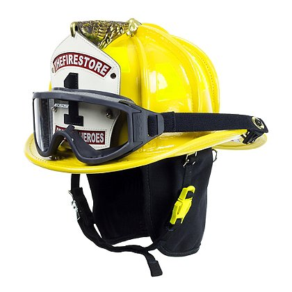 Cairns Yellow N6A Houston Leather Fire Helmet