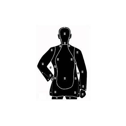 National Target Law Enforcement Silhouette, 50 Yard, 35