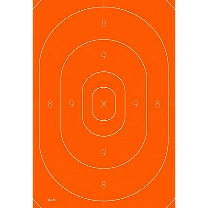 National Target Repair Center For All B-27 Targets, Orange, Pack of 100