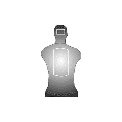 National Target Law Enforcement Silhouette, Georgia State Qualifying 22.5