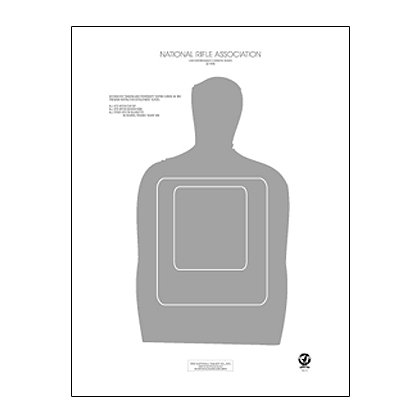 National Target Training and Qualification Targets- Pistol