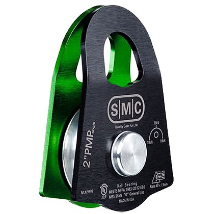 "Rock-N-Rescue SMC 2"" x 1"" PMP Single Pulley"