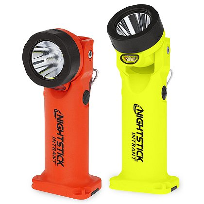 Nightstick INTRANT Intrinsically Safe Multi-Function Dual-Light Tilting Head Angle Light