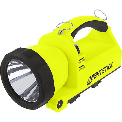 Nightstick Intrinsically-Safe Rechargeable Dual-Light™ Lantern w/Pivoting Head