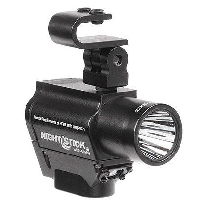 NightStick Helmet-Mounted Multi-Function Dual Light Flashlight
